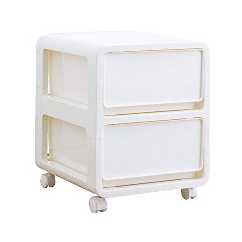 Vagn CHUNLAN Universell Hjul Förvaring Hylla Design Hylla Miljövänligt material butik kläder, mat, kosmetika finns i tre storlekar 41.5*35*41.5cm