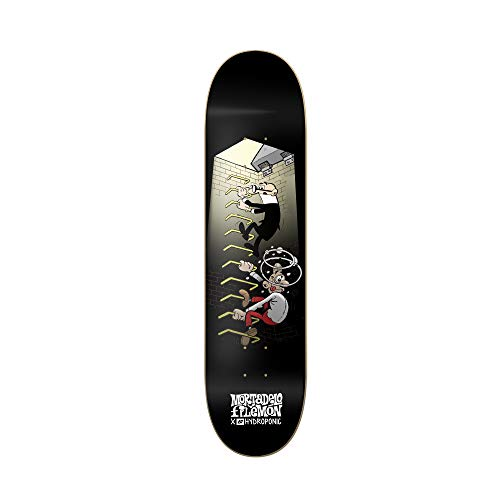 Hydroponic Mortadelo Stairs Tabla Skate, Unisex Adulto, Blanco, 8