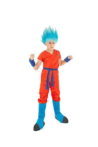 Generique - Disfraz Goku Dragón Ball Z niño 11 a 12 años