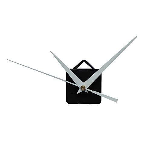 ZYUEER Horloge Murale Silencieuse, Horloge Kit Mouvement DIY Montre PièCes MéCanisme RéParation Outils (Noir D)