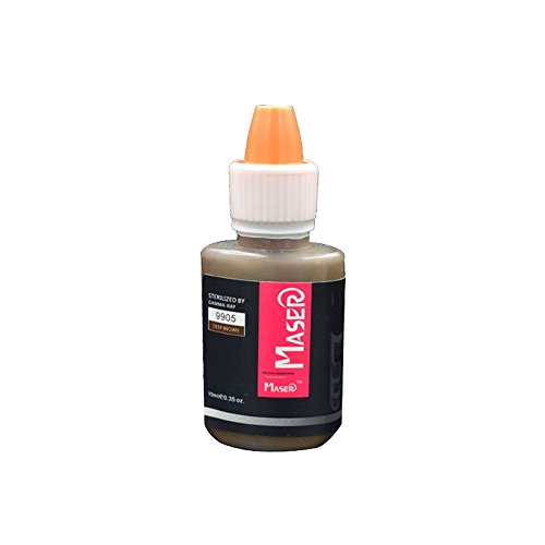 Makeup Tatttoo Pigment Makeup Pigment10ml Deep Brown Color Permanent Tattoo Ink for Eyebrow and Lip Tattoo Manchine Kit
