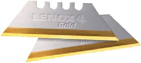LENOX GOLD Titanium Coated Utility Knife Blades (100 Pack)