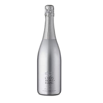 CLOS MONTBLANC Cava Brut Premium - Spanish Sparkling Wine 75cl, 1 Bottle