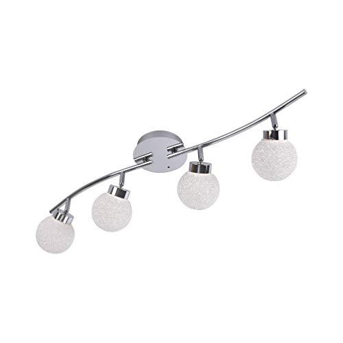 RGB LED Deckenleuchte Leuchten Direkt Miko 14551-17 Fernbedienung