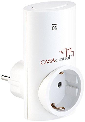 CASAcontrol Zubehör zu Funkschalter-Steckdose: Funksteckdose SF-336.sh für Smart Home Basis-Station