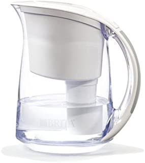 Brita Water Filtration System Kit: 1 Pitcher (Large Capacity) Plus 2 Fliters