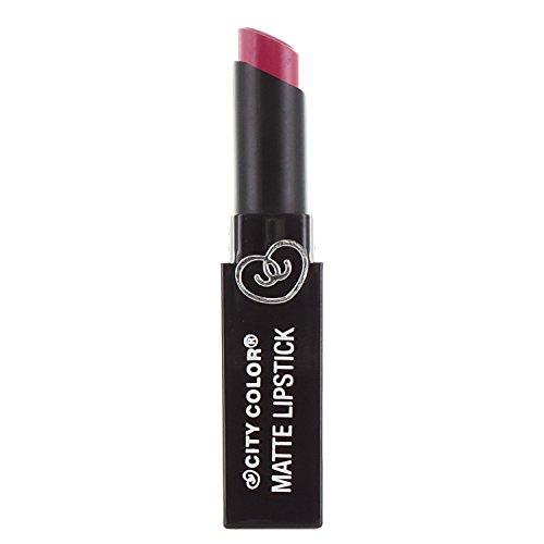 CITY COLOR Matte Lipstick L0050B - Mulberry