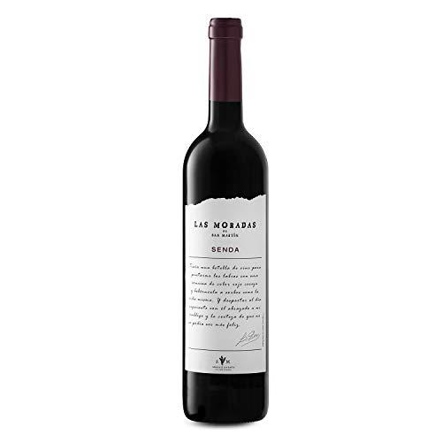 LAS MORADAS DE SAN MARTÍN Senda - Vino Tinto - Añada 2017 - D.O. Vino de Madrid - Paquete de 3 botellas - 75 cl. - Vino Tinto Fresco y Aromático - Elaborado con Uva Garnacha