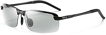 Suglss Photochromic Polarized Day & Night Driving Sunglasses