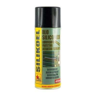 Olio siliconico lubrificante spray 400 ml SILIKOEL STAR TECH
