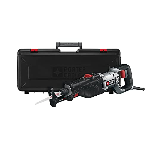 PORTER-CABLE Reciprocating Saw, 8.5-Amp with Orbital Action (PC85TRSOK)