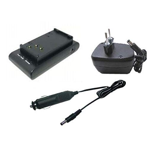 Powery Cargador de batería para Sony NP-55