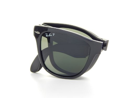 Ray-Ban RB4105 Wayfarer Gafas de sol plegables, no polarizadas, 50 mm