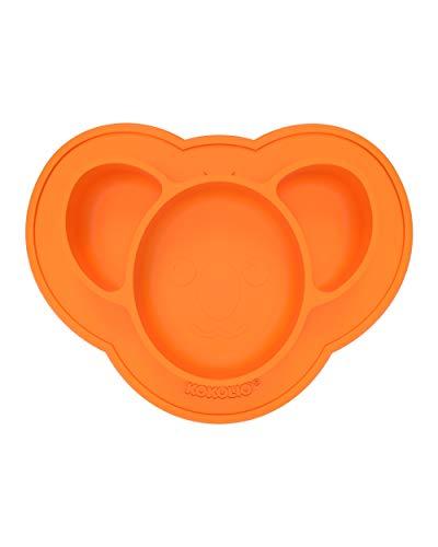 KOKOLIO – Plato para bebé y plato para niños – antideslizante, ventosa – para una experiencia de comedor sin manchas
