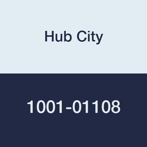 "Hub City IndustriaLine 1001-01108 TPB250X1-3/8 Pillow Block Bearing, 1.38"" ID, 2"" Height, 5"" Length, 5"" Width, Metal"