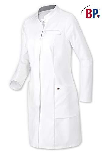 BP 1746-684-21-36n Arztkittel für Frauen, Langarm mit Stretcheinsätzen, 200,00 g/m² Stoffmischung mit Stretch, weiß ,36n
