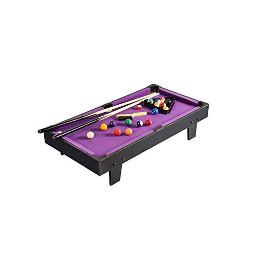QSJY Mini Indoor Tisch Pool Set w/for Zwei Eltern-Kind-Interaktion 91 × 46 × 20 cm (Size : 91×46×20cm)