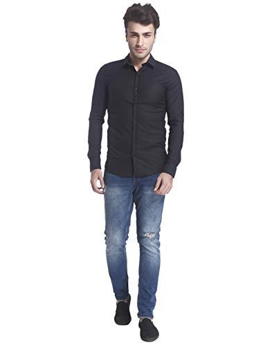 ONLY & SONS Herren onsALEJANDRO LS Shirt NOOS Businesshemd, Schwarz (Black), X-Small