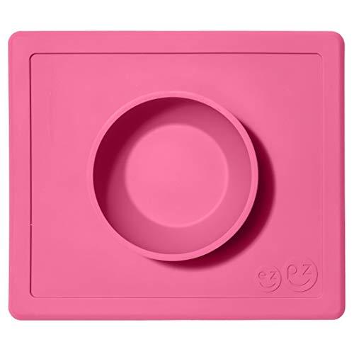Ezpz EZpz Happy Bowl Saugnapfschale rosa Rosa