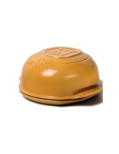 CERAMICA EMILE HENRY LABELL SIQURI diametro 32cm | Argilla naturale ecologica bianca senza metalli pesanti | garantisce la massima sicurezza alimentare durante la cottura | Garanzia 10 anni.