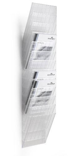 Durable 1709763400 Prospektspenderset (Flexiboxx 12 A4) 1 Set transparent