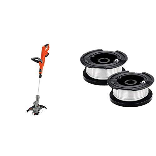 Buy BLACK+DECKER 20V MAX String Trimmer with Trimmer Line Replacement Spool, Autofeed 30 ft, 0.065-I...