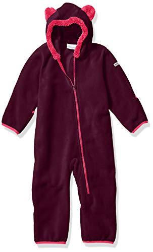 Columbia Kid's Tiny Bear II Bunting Outerwear Purple Dahlia/Wild Salmon 12/18