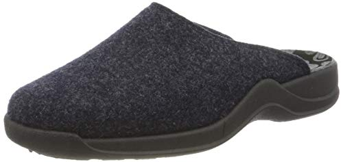 Rohde Womens Vaasa-d Flat Slipper, 56 Ocean, 6 UK