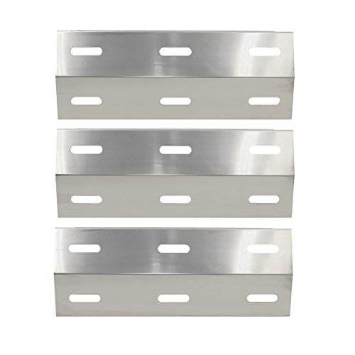 Bar. b.q.s Edelstahl Hitze Teller Shield Ersatz für Gasgrill Ducane Modelle: 30400040, 30400045, 30400046, 3200, 3400, 4200, S3200, S5200 (3er Pack)