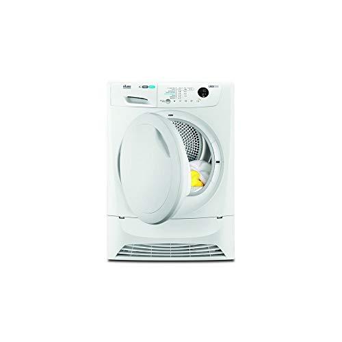 Faure FDH8334PZ sèche-linge Autonome Charge par-dessus Blanc 8 kg A+ - Sèche-linge (Autonome, Charge par-dessus, Pompe à chaleur, Blanc, Boutons, Droite)