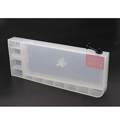 Piezas Impresora Cartucho Recargable Compatible Fit para EPSON 4880 Cartucho de Impresora de Formato Ancho Fit para EPSON 4880C 7880C 9880 9450 7400 9400 7600 9600 (Color : LM)