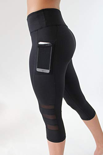 WHFDRHQT Pantalones De Yoga para Mujer, Gimnasio De Entrenamiento, Atlético, De Cintura Alta, Fitness, Pantalones De Yoga, Mallas Deportivas, Mallas Negras para Mujeres