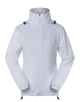 Spmor Women s Lightweight Jackets Waterproof Windbreaker Jacket Running Coat S
