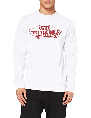 Vans Otw Crew II Pullover, Bianco, L Uomo