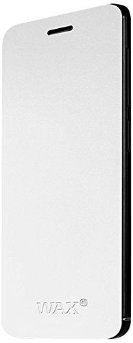 Wiko 93313 Flip Cover für Wax weiß