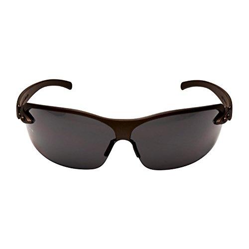 3M Schutzbrille 1200E1, AS/AF/UV, PC, grau getönt inkl. Mikrofaserbeutel