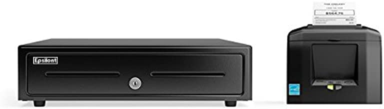 SQUARE, SHOPIFY, and Other POS HARDWARE BUNDLE - Star Micronics TSP650II BTi 39449871 Bluetooth Receipt Printer and Epsilont Cash Drawer (Bluetooth Printer and Drawer)