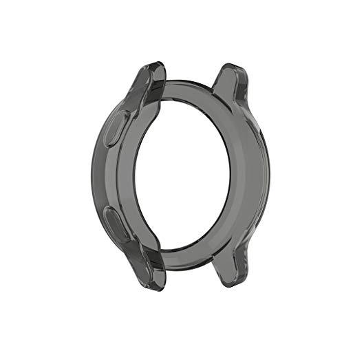 kdjsic Ultraslanke, doorzichtige TPU-horlogekast Beschermhoes voor -garmin vivoactive 4 voor -garmin Active Smart Watch…