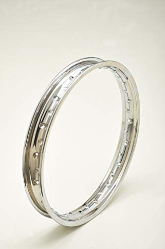 Llanta de acero cromado cromado cromado Steel Wheel Rim ItalLlanta 1,85 x 21 36 agujeros