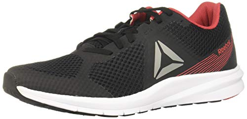 Reebok Endless Road, Zapatillas de Trail Running para Hombre, Multicolor (Negro/Trugr7/Rebred 000), 39 EU