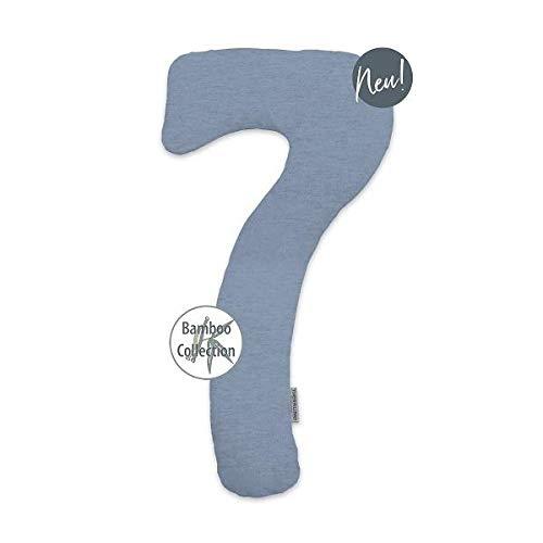 Theraline Bezug für my7, Farbe Melange blau-grau, Bamboo Collection