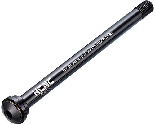 KCNC KQR08-SH Schnellspann-Steckachse 12x100mm E-Thru Black 2020 Fahrrad Schnellspanner
