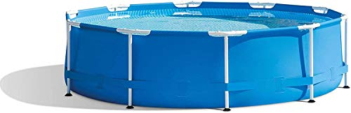 shanchar Framed Swimming Pools for Kids and Adults 10 feet x 30 inch, Easy Set Pool for Backyard, Metal Frame Swimming Pool