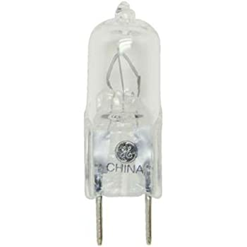 new GE 75 WATT HALOGEN light BULB 12 VOLT 12v quartz 75w capsule type 2 pin JC