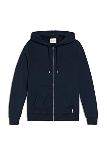ARMEDANGELS JOAA - Herren Sweatjacke aus Bio-Baumwoll Mix M Navy Sweatjacket Solid, Sweat Jacke Regular fit