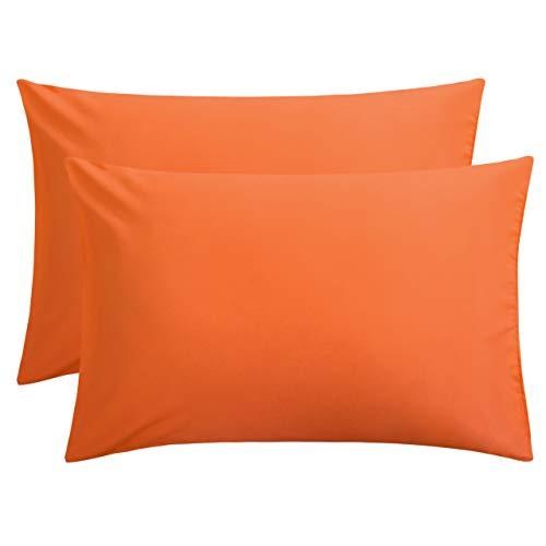FLXXIE 2 Pack Microfiber Pillowcases, Envelope Closure, Ultra Soft and Premium Quality, 20