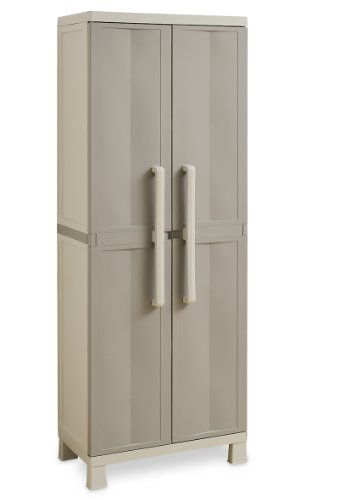 TOOMAX Z708R025 Art. 708 Freedom S Armoire Gris Clair/Taupe 65 x 37 x 173 cm