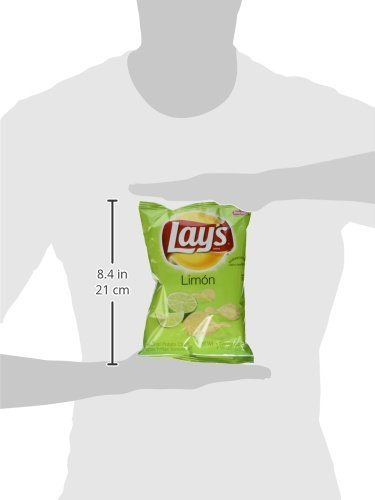 Frito Lay's Limon Chips (1.5 Oz. - 8 Pack) JUMBO SNACK SIZE!!!!!!