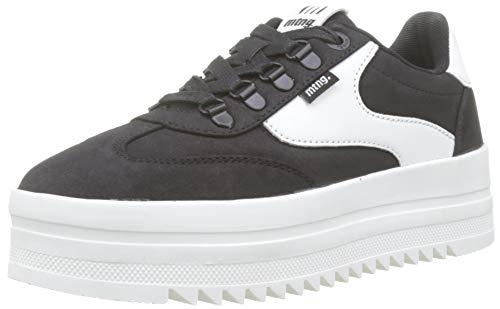 MTNG Attitude Damen 69618 Sneakers, Schwarz (NOU Negro/BLC C47286), 40 EU