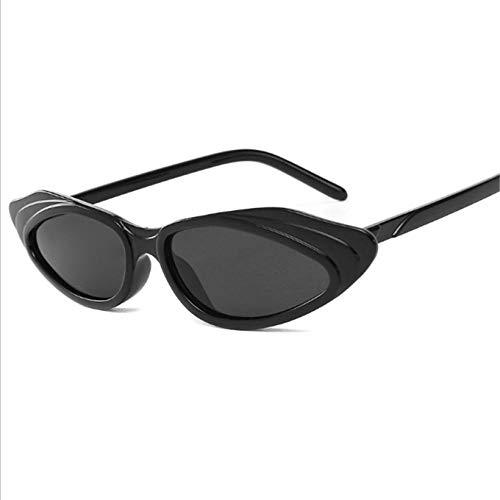 U/N Gafas de Sol Vintage para Mujer, Gafas de Sol de Lujo, Gafas pequeñas Irregulares para Mujer, Gafas Vintage Shades-3